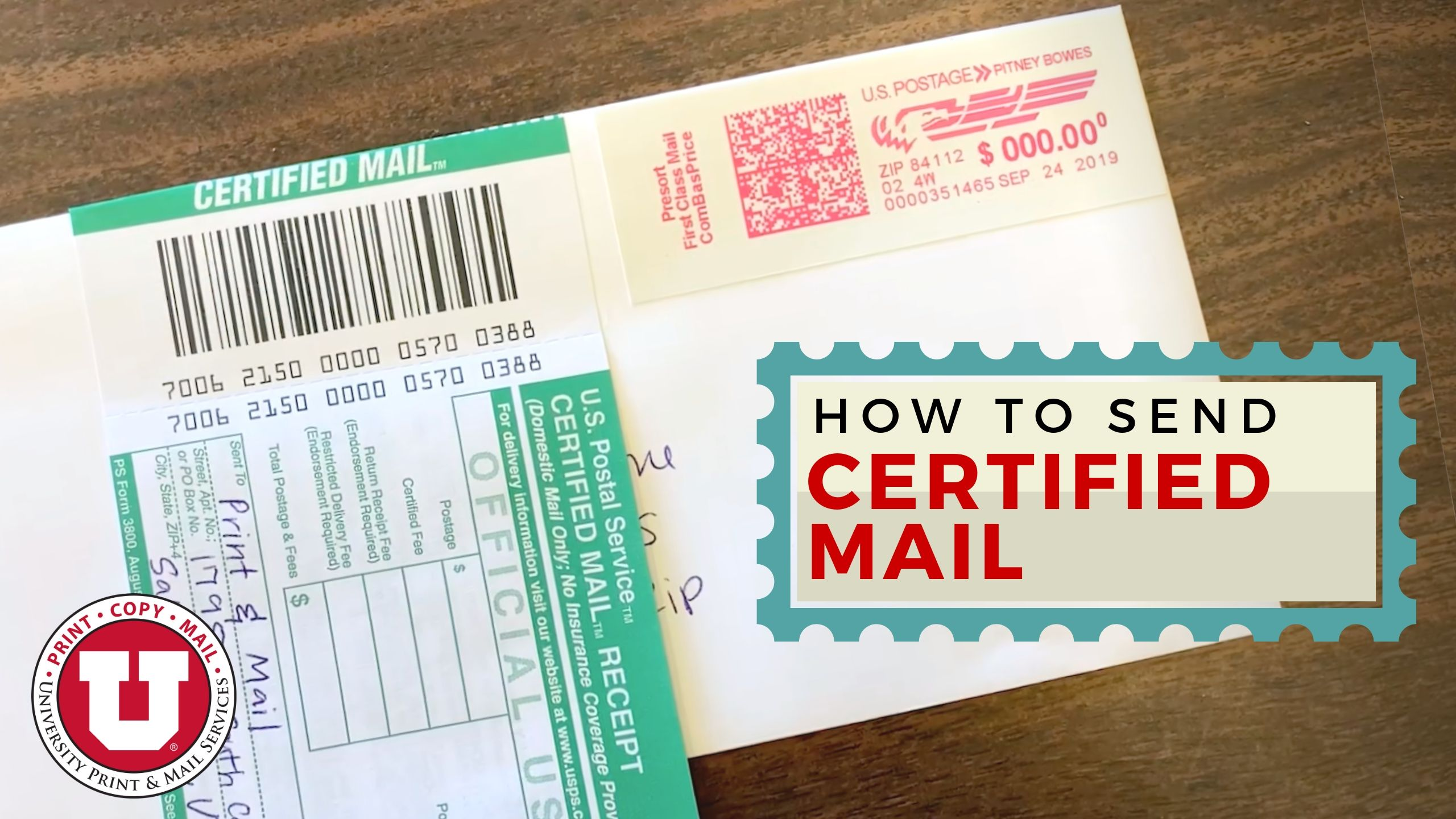 how to prepare a certified return receipt letter  astar